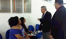Mulheres entregam aos vereadores manifesto para que projeto seja aprovado na íntegra