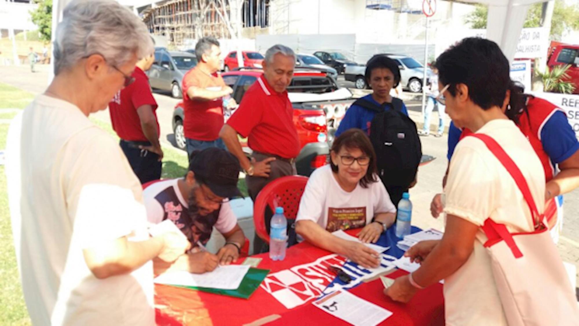 imprensa, Socorro Silva/CUT-PI