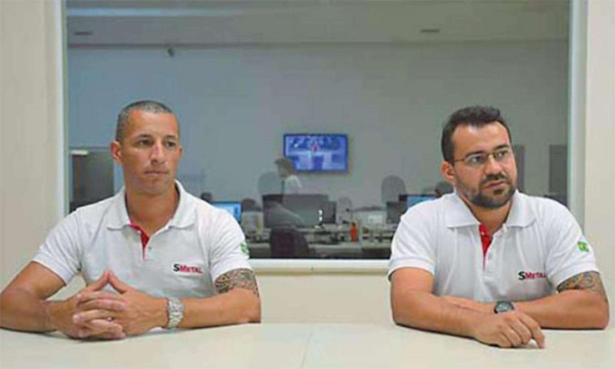leandro soares, silvio ferreita, smetal, sorocaba, campanha salarial, entrevista, jornal cruzeiro do sul, Erick Pinheiro/Cruzeiro do Sul