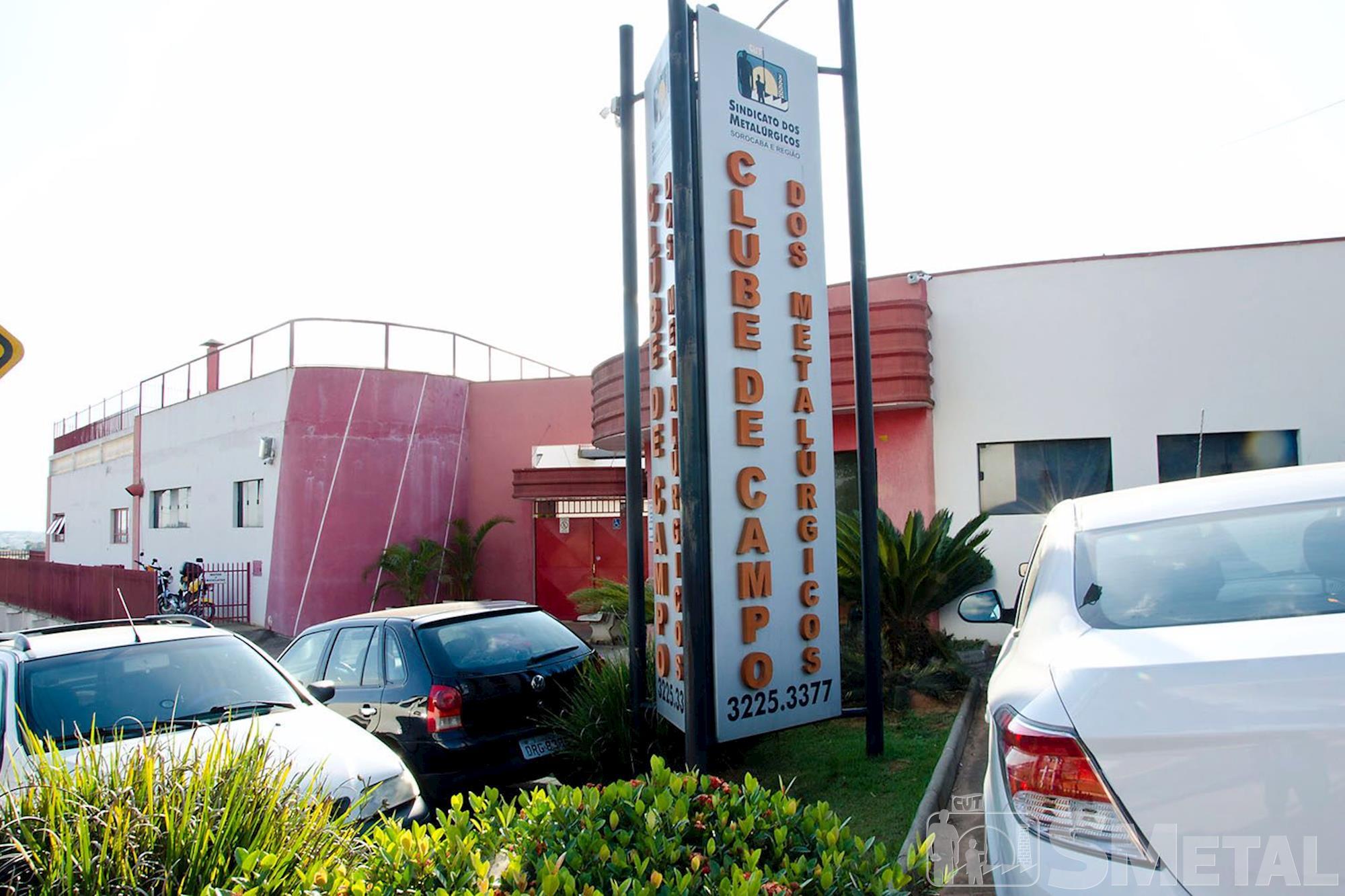 O Clube de Campo fica na avenida Victor Andrew,  4.100,  Éden-Sorocaba, clube,  campo,  smetal, Foguinho/Imprensa SMetal