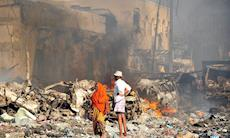 Ataque com caminhão-bomba mata mais de 200 na Somália
