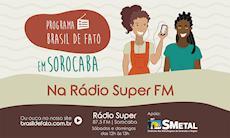 Programa de rádio do Brasil de Fato vai ao ar todos os fins de semana