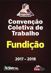 Convenção Coletiva 2017 - Fundição