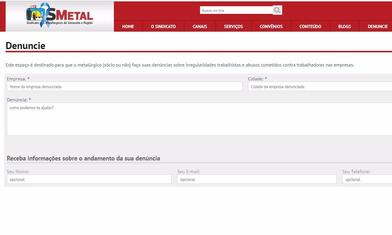 Trabalhadores sem acordo devem denunciar no Portal SMetal