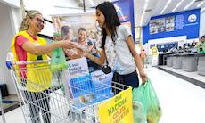 Dia Nacional da Coleta de Alimentos arrecada mais de 6 toneladas