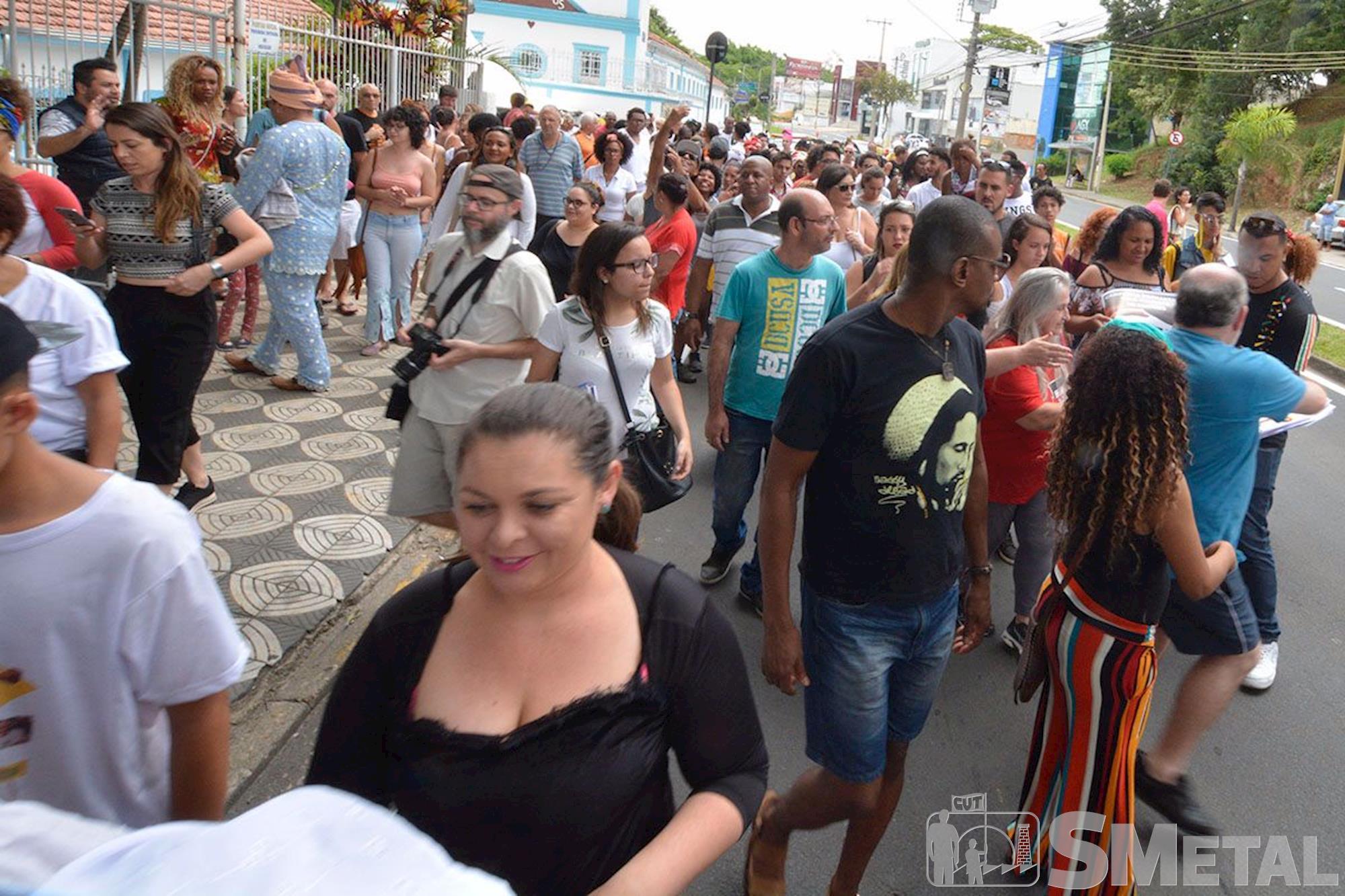 1ª Marcha Zumbi & Dandara em Sorocaba, marcha, negro, zumbi, dandara, Foguinho/Imprensa SMetal