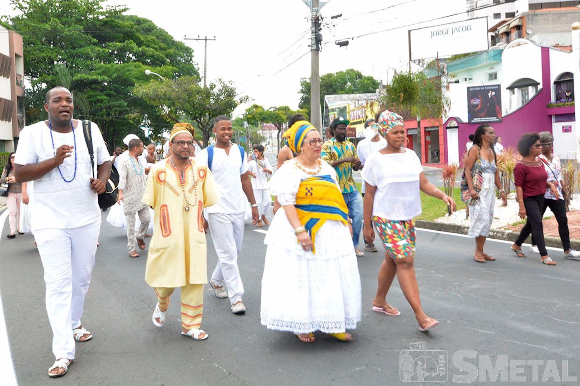 1ª Marcha Zumbi & Dandara em Sorocaba, marcha,  negro,  zumbi,  dandara, Foguinho/Imprensa SMetal, Marcha Zumbi & Dandara marca o Dia da Consciência Negra em Sorocaba