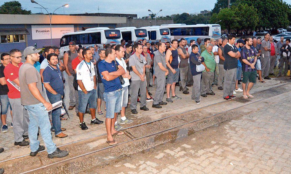 Prysmian: acordo com proteção contra a reforma encerra greve