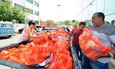 Natal Sem Fome distribui 15 toneladas de alimentos a famílias carentes