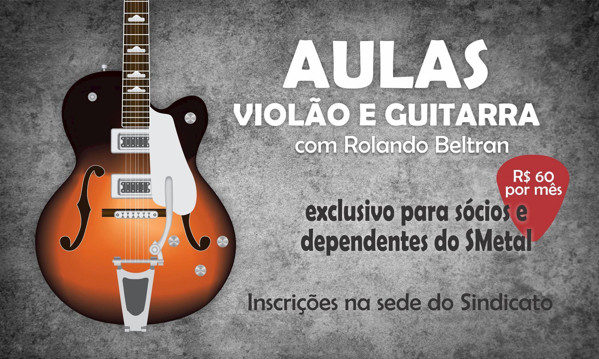 aula, violão, Divulgação