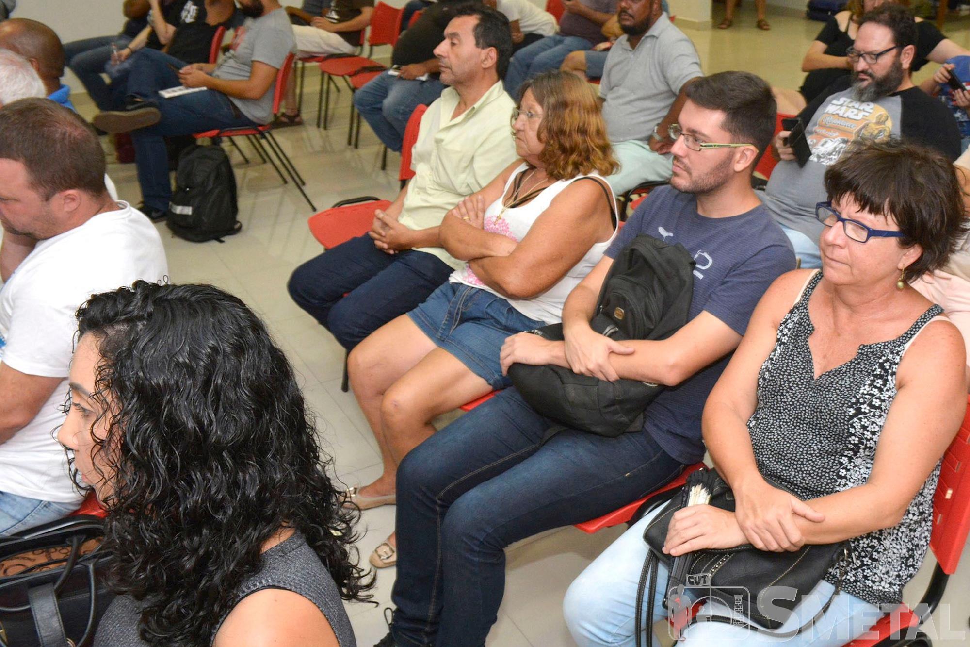 Palestra com Leonardo Sakamoto no SMetal Sorocaba, sakamoto; palestra; formação; jornalista; sindicato;, Foguinho/Imprensa SMetal