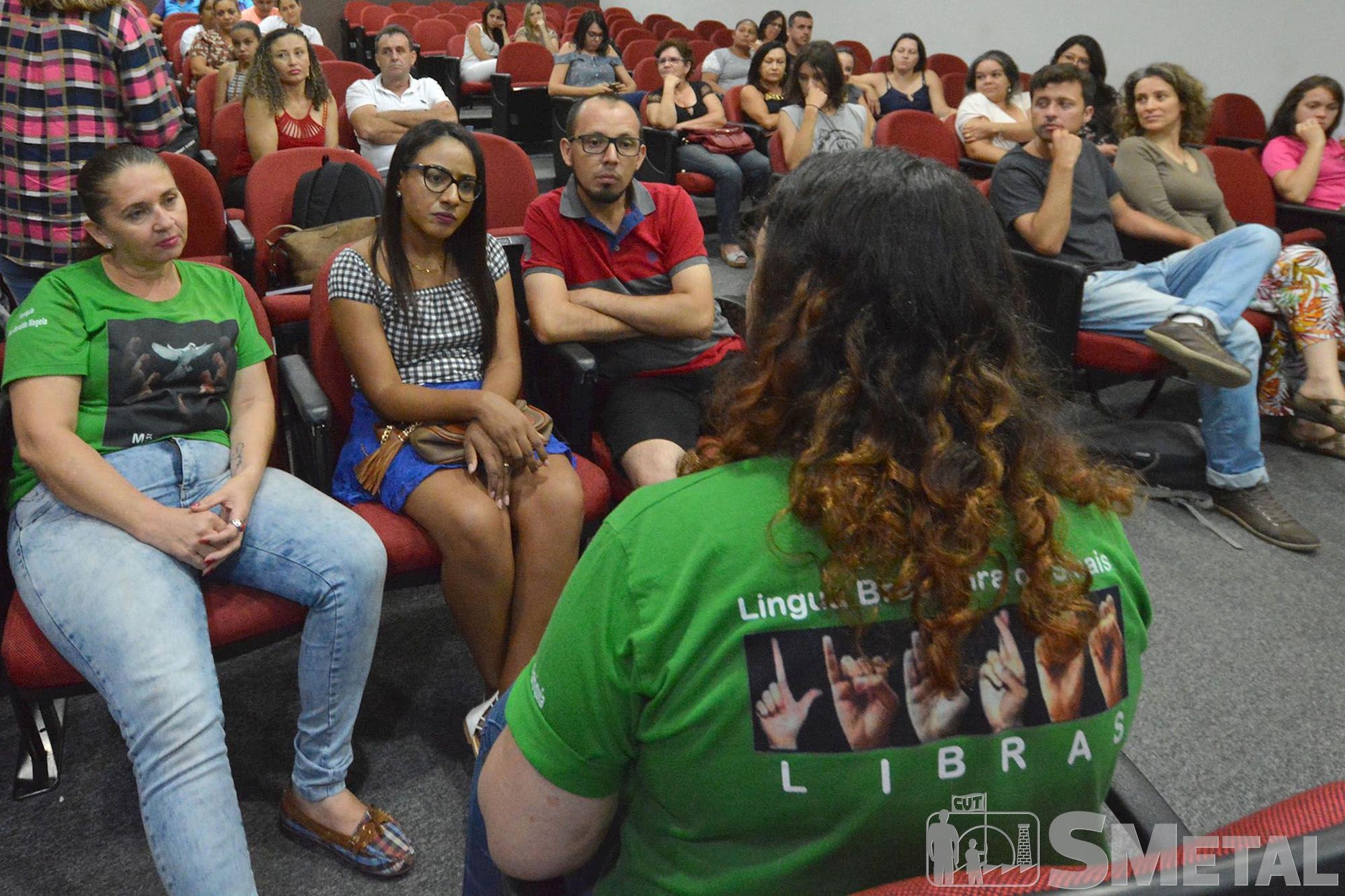 Cine debate do SMetal reforça a necessidade da igualdade de gênero, mulher, luta, cine, debate, Foguinho/Imprensa SMetal