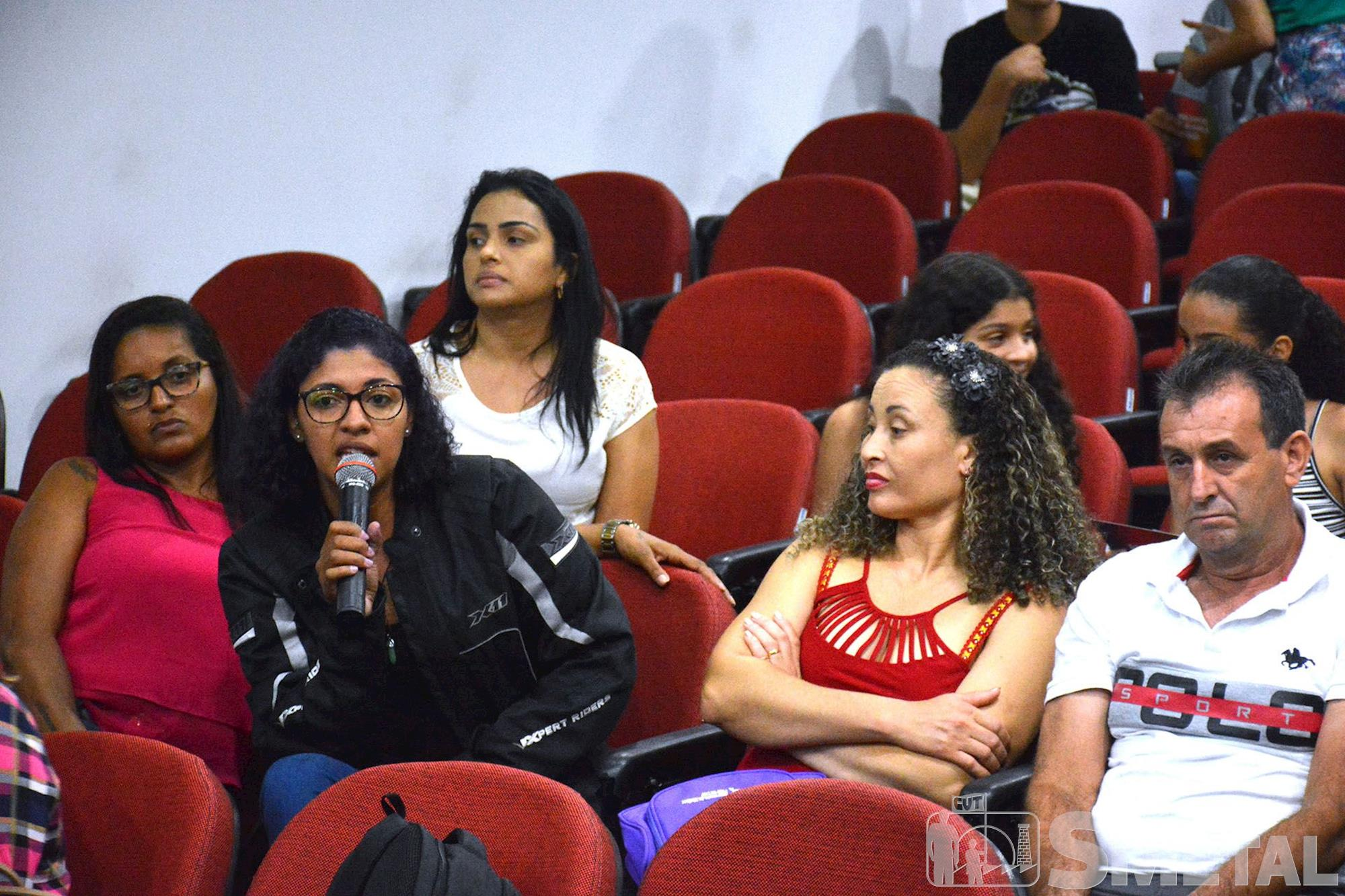 Cine debate do SMetal reforça a necessidade da igualdade de gênero, mulher,  luta,  cine,  debate, Foguinho/Imprensa SMetal, Cine debate do SMetal reforça a necessidade da igualdade de gênero