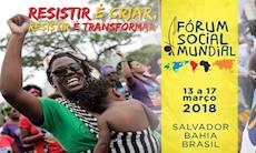 Fórum Social Mundial começou nesta terça em Salvador