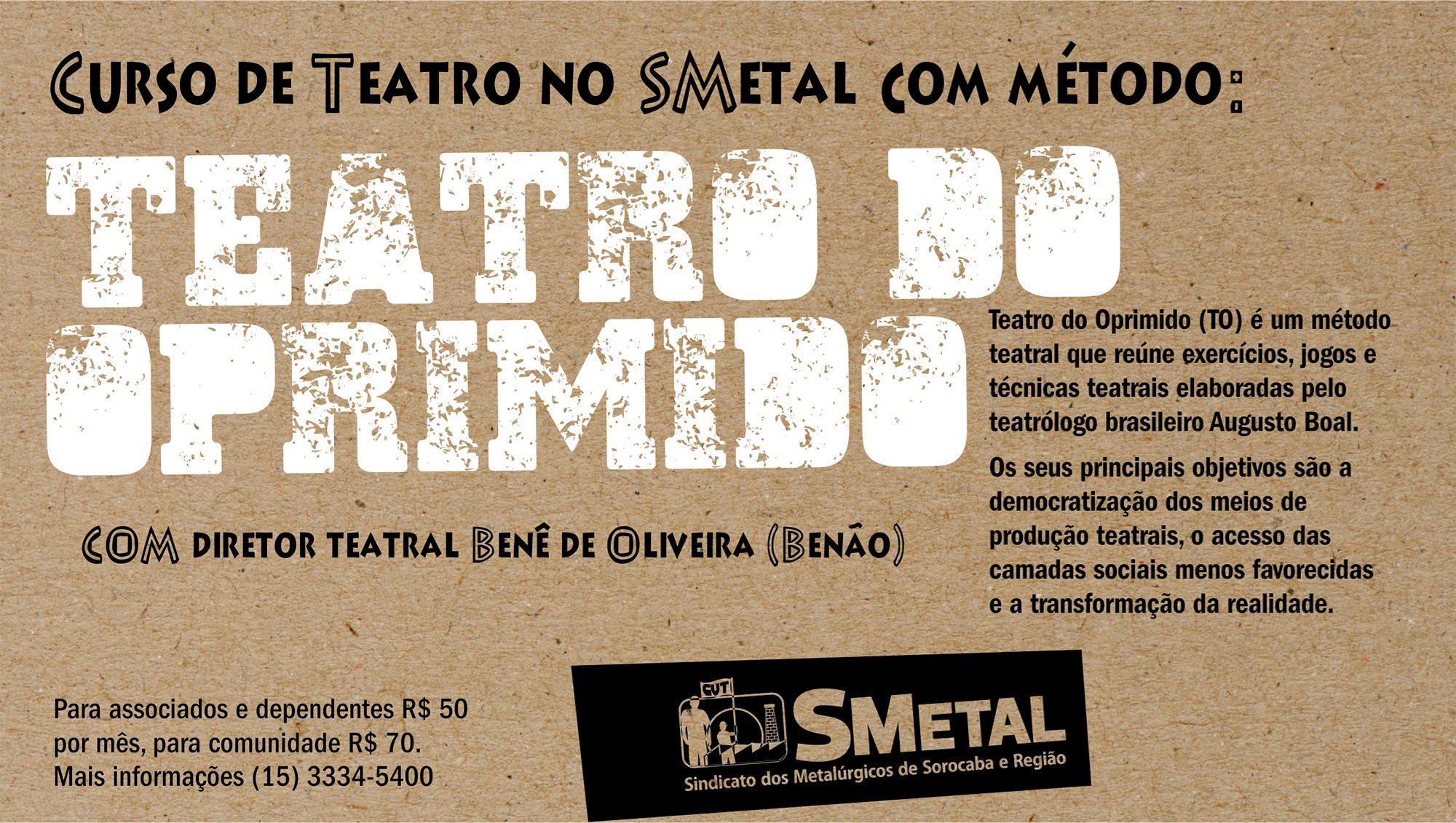 teatro, oprimido, Arte: Cássio Freire