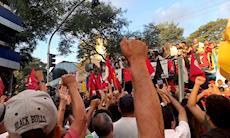 Confira fotos do ato em Solidariedade a Lula, em São Bernardo do Campo
