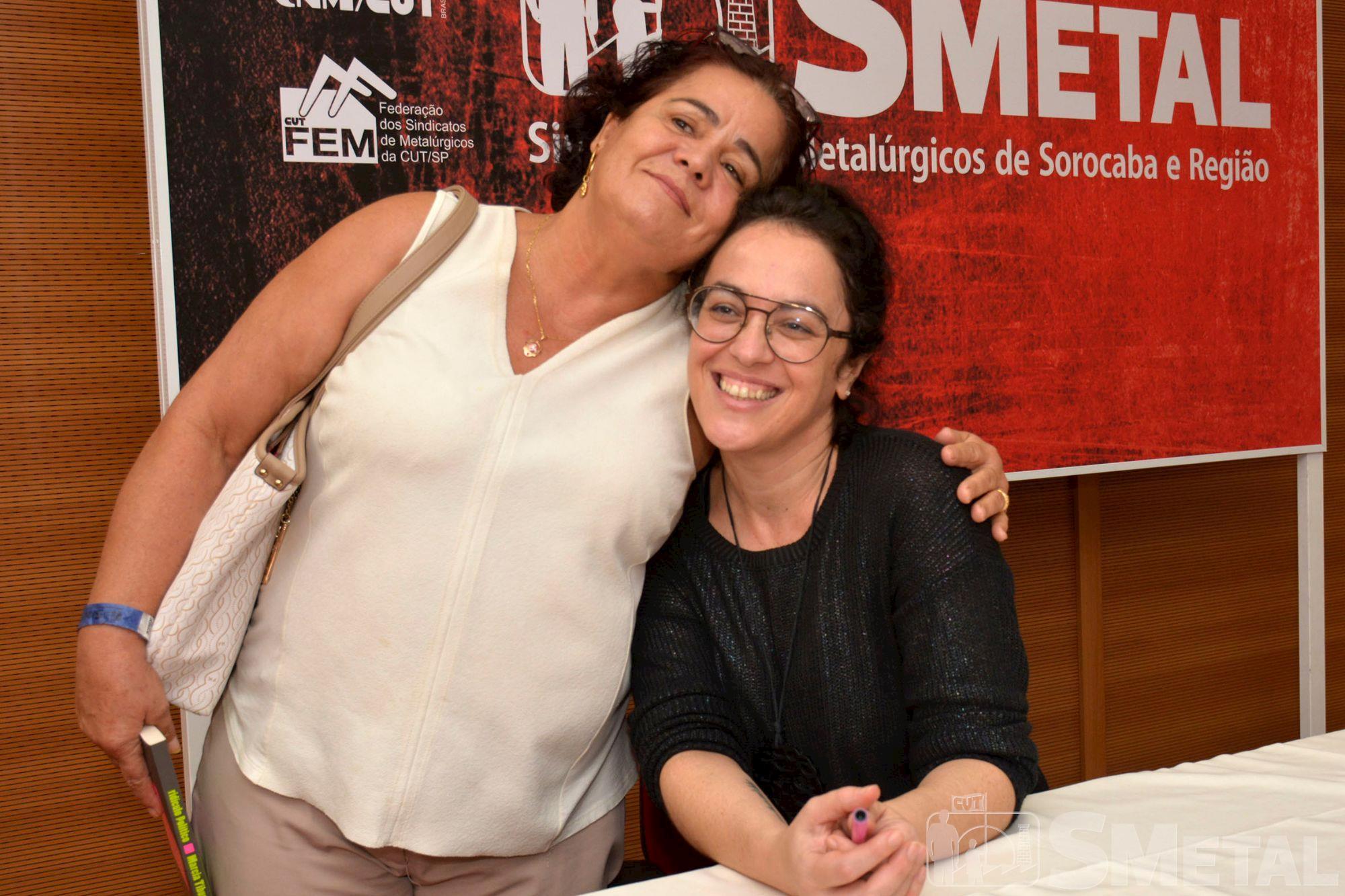 Palestra de Marcia Tiburi lota auditório do SMetal, marcia,  palestra,  tiburi,  smetal, Foguinho/Imprensa SMetal, Confira as fotos da palestra de Marcia Tiburi no SMetal