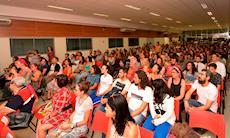 Confira as fotos da palestra de Marcia Tiburi no SMetal