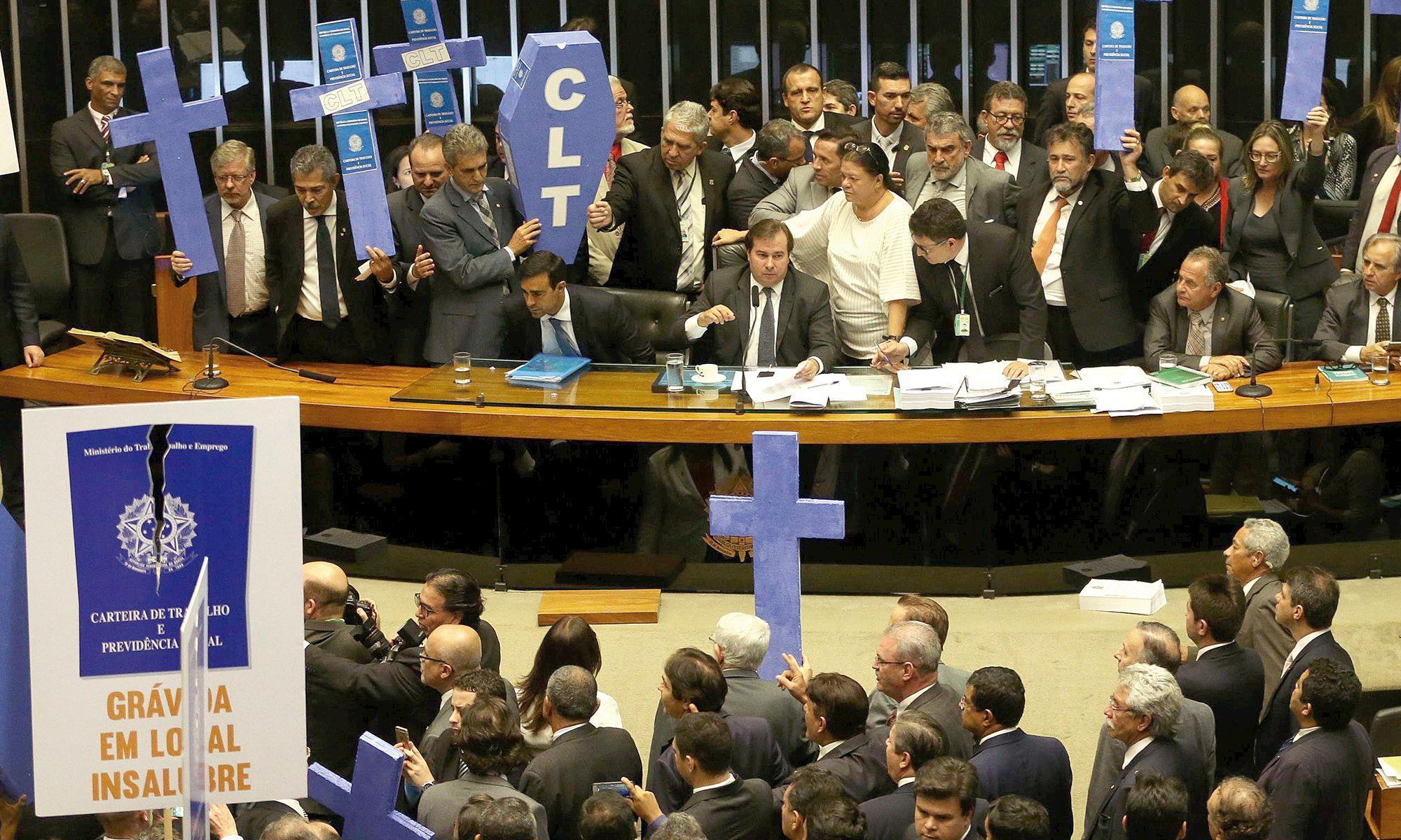 clt, câmara, reforma, Antonio Cruz/Agência Brasil