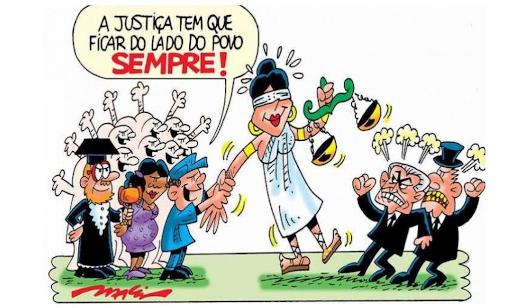 jutiça,, Arte: MÁRCIO BARALDI