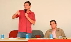 Gilmar Mauro e Luiz Marinho reforçam a luta pela democracia no SMetal
