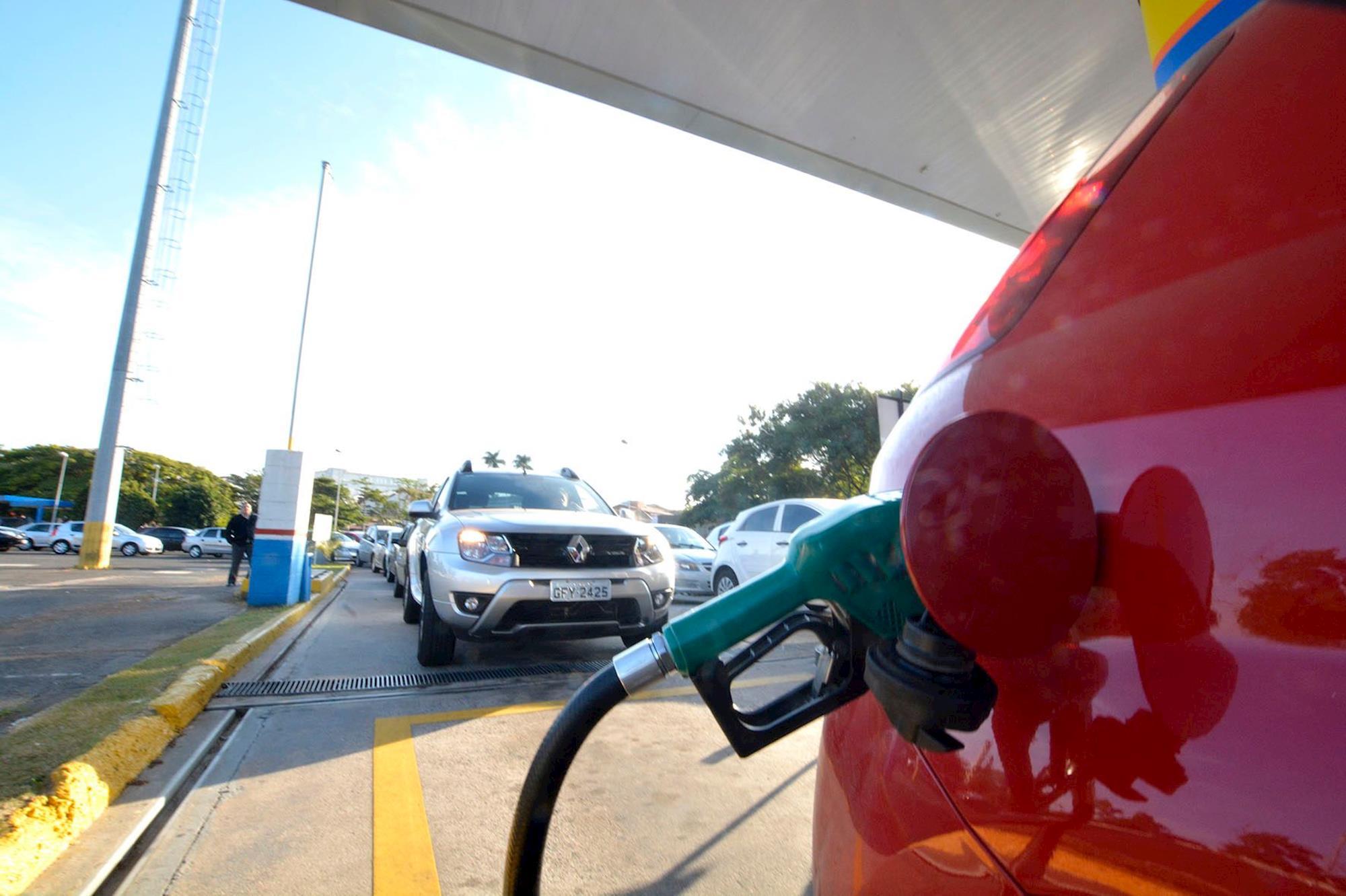 gasolina, diesel, motoristas, foguinho, Foguinho/Imprensa SMetal