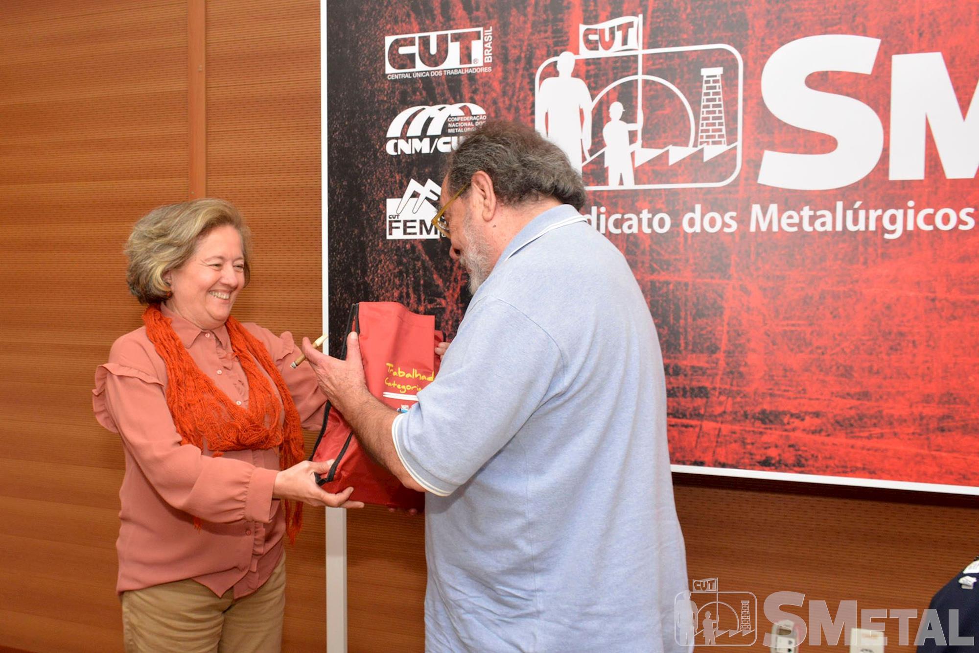 fernando,  morais,  formação,  smetal,  palestra, Foguinho/Imprensa SMetal, Palestra com o escritor Fernando Morais no SMetal