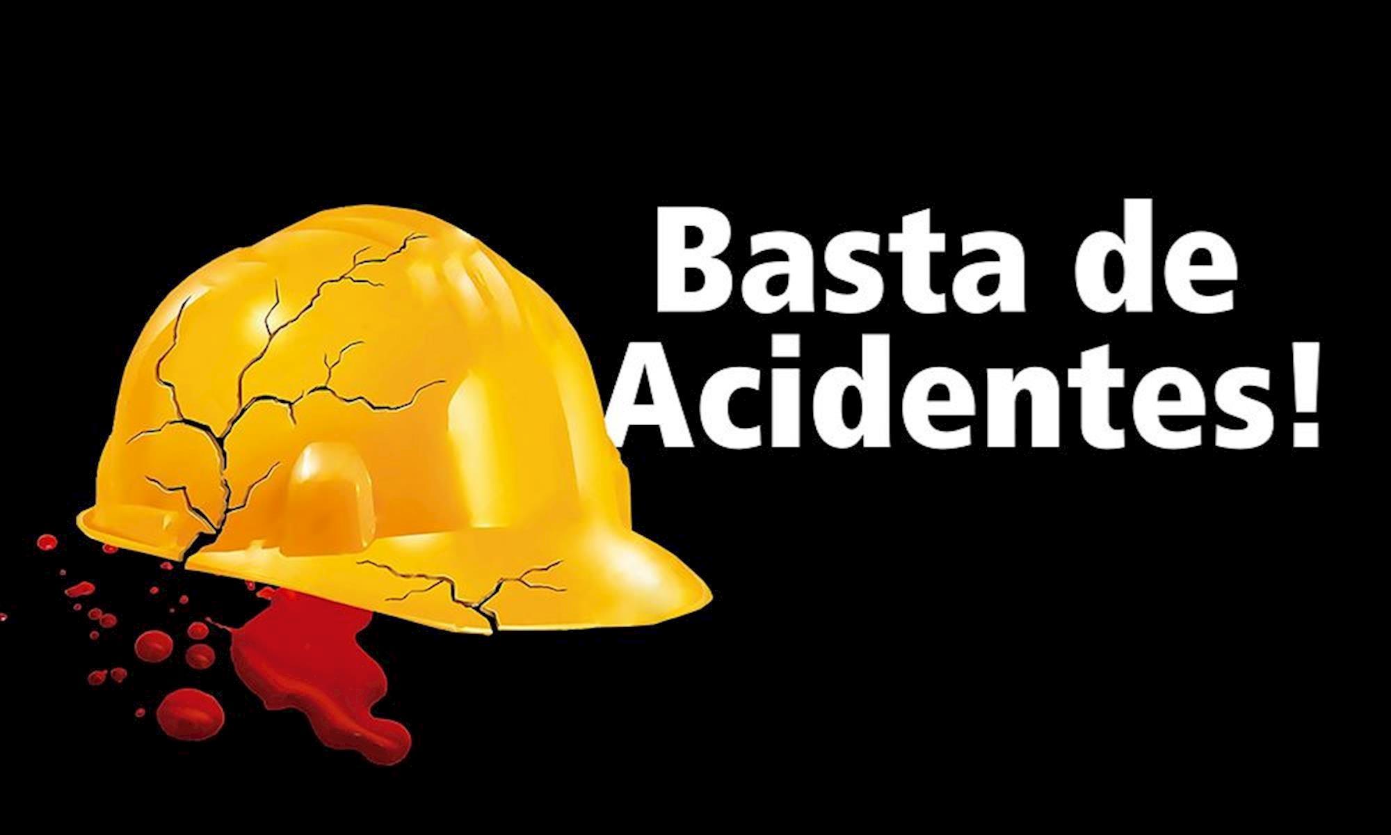 acidente, basta, trabalho, Arte: Cassio Freire