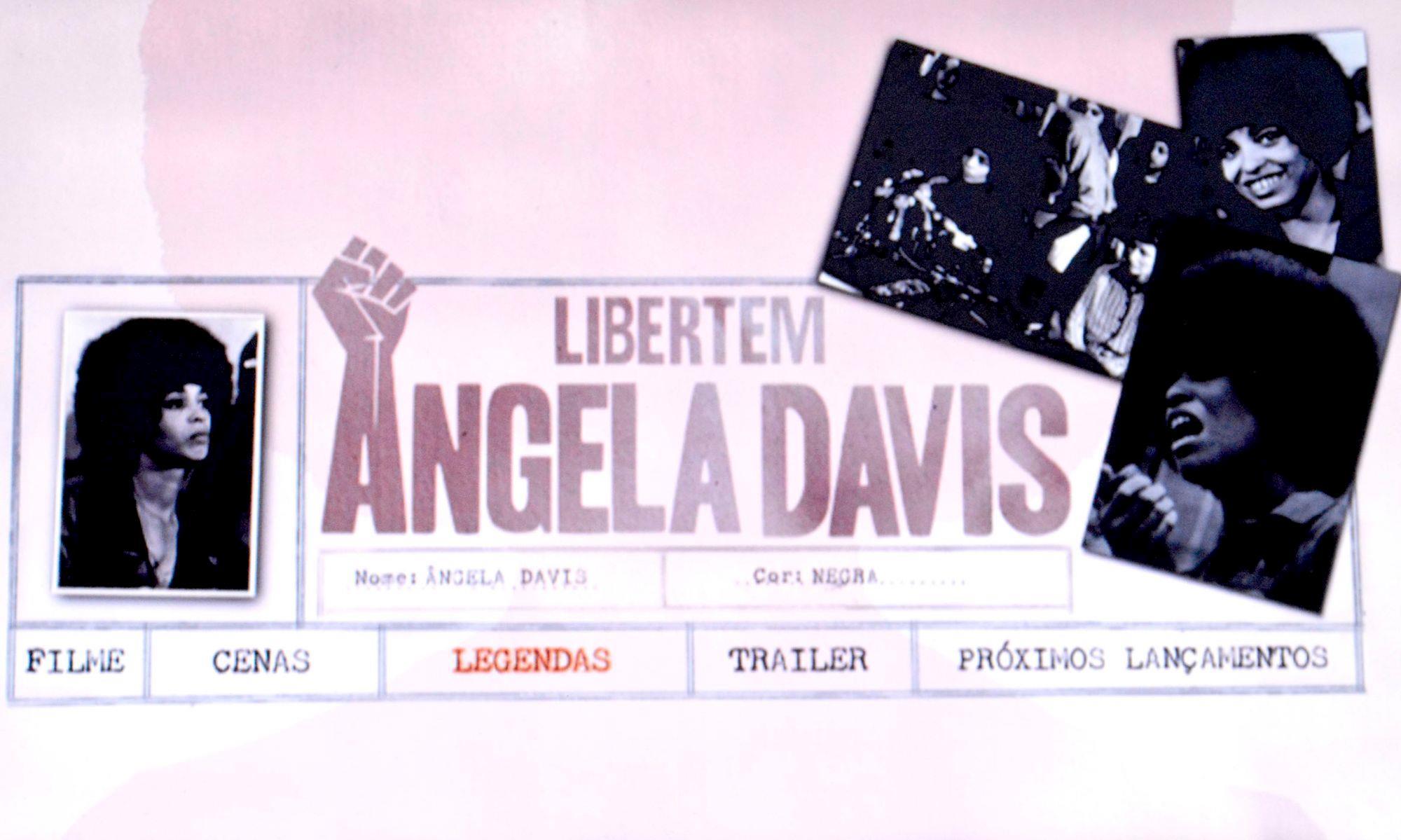 angela, davis, cine, Foguinho/Imprensa SMetal