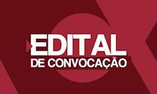 Edital de convocação de Assembleia sobre o 13° CONCUT e o 15° CECUT