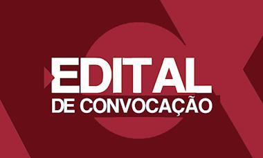 Edital de convocação de Assembleia Eletrônica da CBA - filial Sorocaba