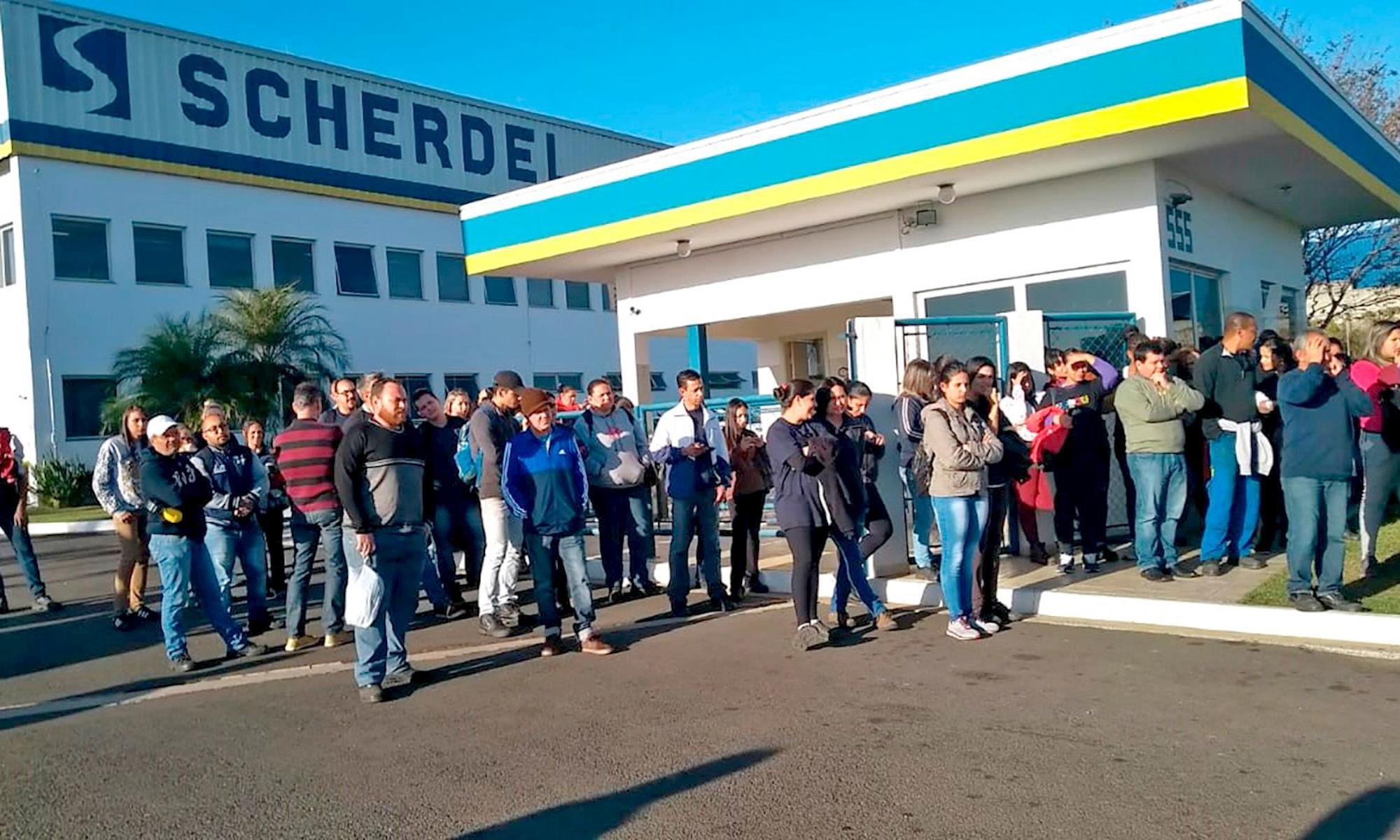greve, scherdel, ppr,, Divulgação