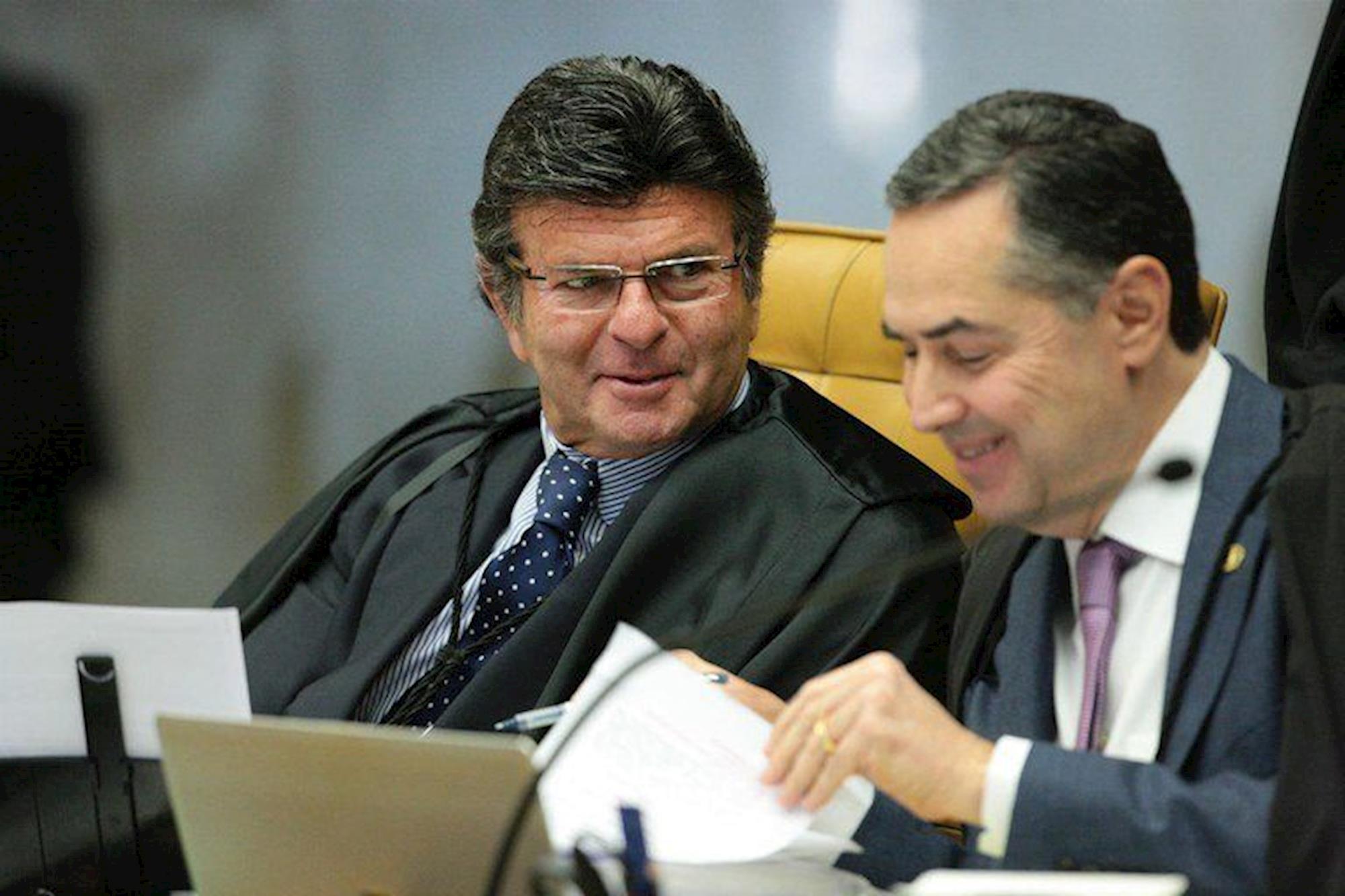 stf, ministro, fux, Carlos Moura/SCO/STF