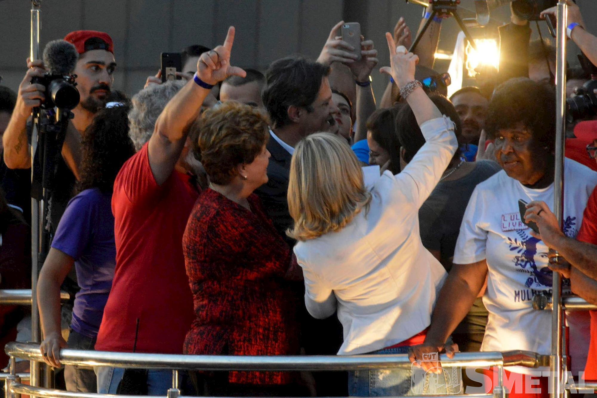 lula,  livre,  registro,  candidatura, Foguinho, Ato em Brasília marca o registro da candidatura de Lula
