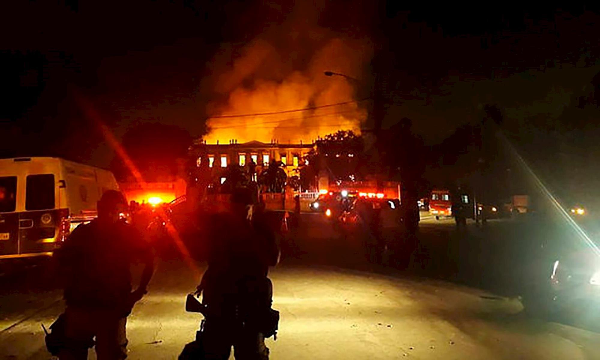 museu, incêndio,, Agência Brasil