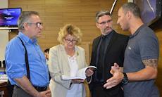 SMetal entrega relatório sobre a Saturnia à comissão de vereadores