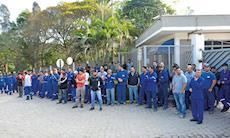 Trabalhadores da Metalur cobram acordo de PPR