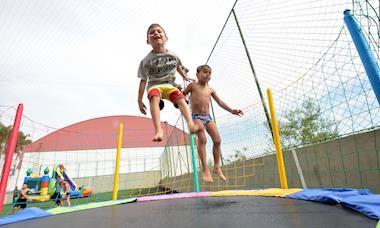 Dia das Crianças e reabertura das piscinas no Clube de Campo