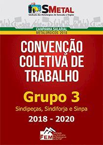 Convenção Coletiva 2018-2020 - Grupo 3