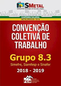 Convenção Coletiva 2018-2019 - Grupo 8.3