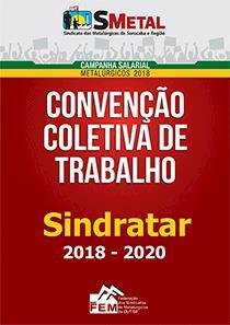 Convenção Coletiva 2018-2020 - Sindratar