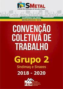 Convenção Coletiva 2018-2020 - Grupo 2