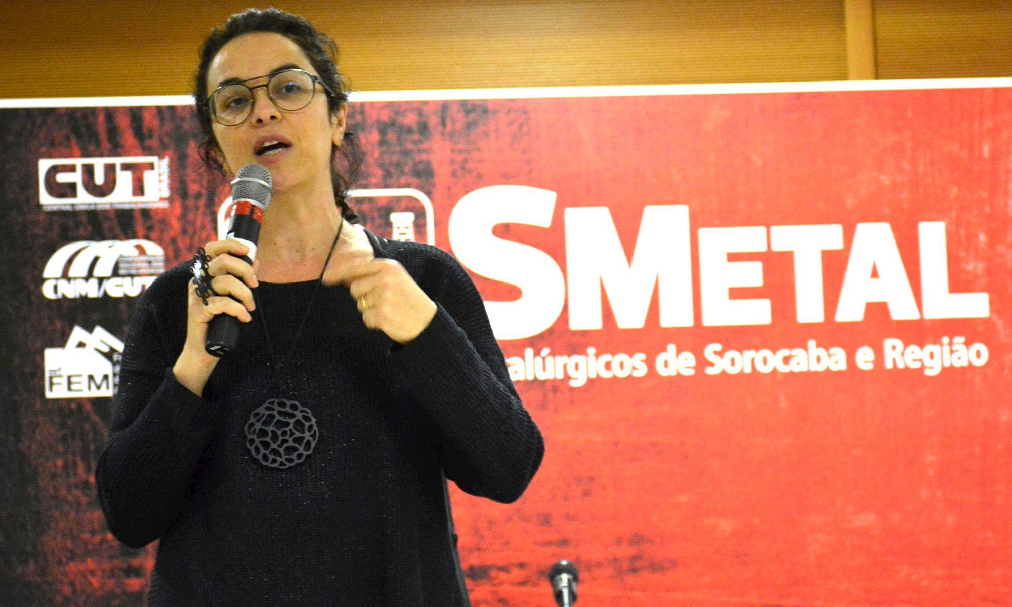 marcia, tiburi, entrevista, eleições, Foguinho/Arquivo SMetal