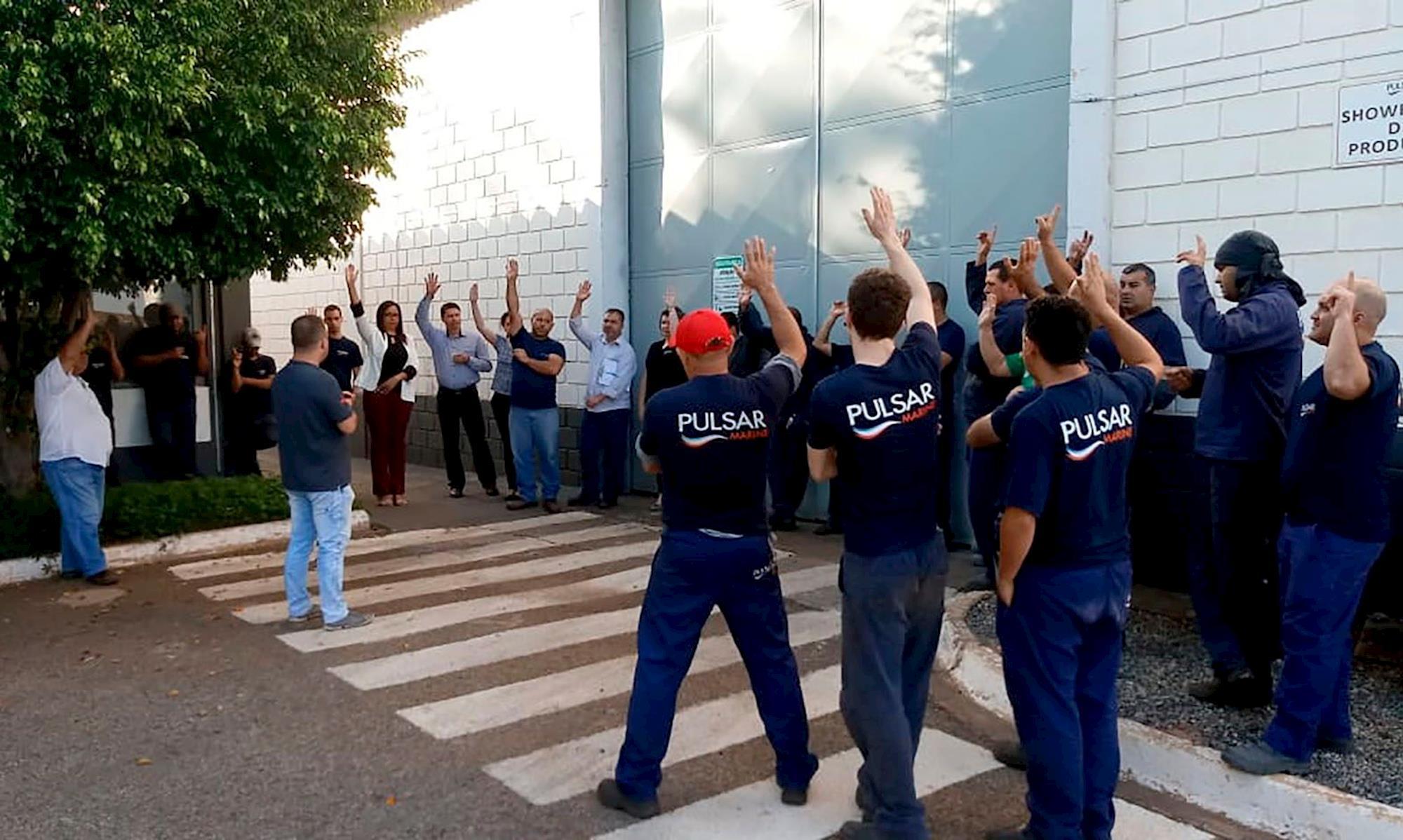 pulsar, campanha, salarial, ppr, copabo, Divulgação