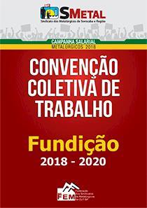 Convenção Coletiva 2018-2020 - Fundição