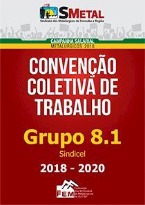 Convenção Coletiva 2018-2020 - Sindicel