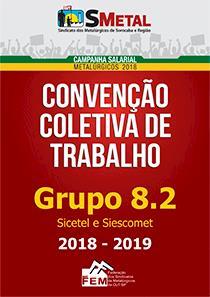 Convenção Coletiva 2018-2019 - Grupo 8.2