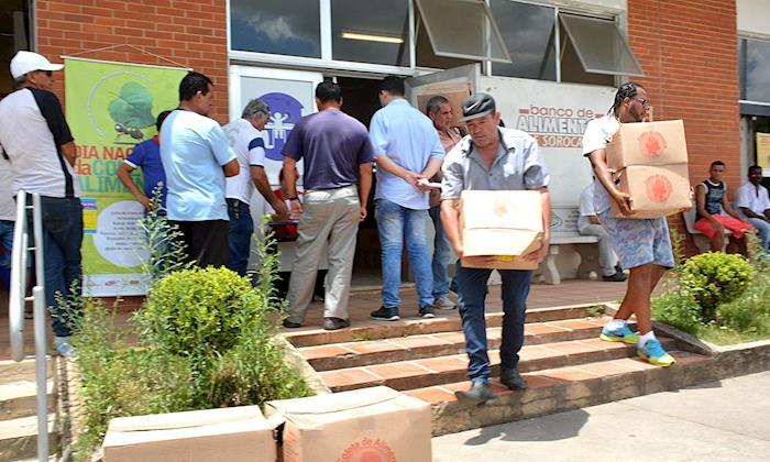 Alimentos arrecadados no Dia da Coleta são doados a 52 entidades