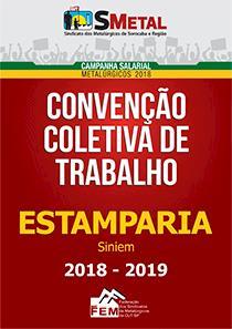 Convenção Coletiva 2018-2018 - Estamparia