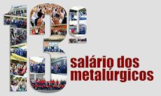 Pagamento do 13º dos metalúrgicos insere R$ 174 mi na economia regional